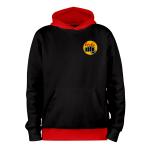 Cobra Kai-ROUGE_hoodies_Devant